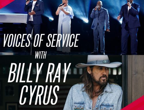 Tonight: Billy Ray Cyrus Performs on NBC's America's Got Talent with Voices of Service