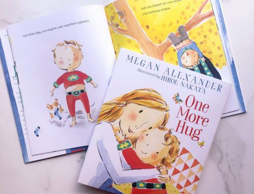 "Megan Alexander's ""One More Hug"" No. 1 on Amazon in Children's New Experiences Books"