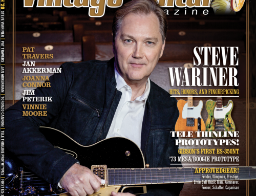Steve Wariner Graces Cover of Vintage Guitar March Issue