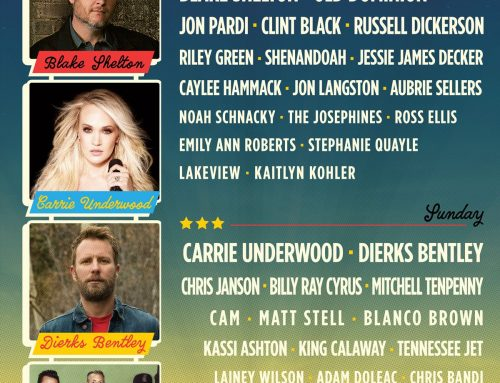 HOMETOWN RISING COUNTRY MUSIC & BOURBON FESTIVAL ANNOUNCES 2020 LINEUP