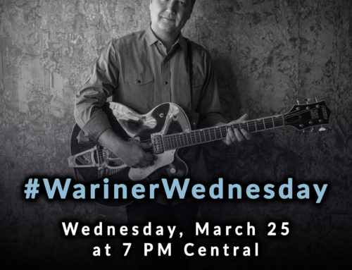 Tonight: Steve Wariner launches #WarinerWednesday LIVE at 7p CST