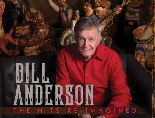 ICONIC SONGWRITER AND  COUNTRY MUSIC HALL OF FAME MEMBER WHISPERIN' BILL ANDERSON TO RELEASE 73RD ALBUM, 'THE HITS RE-IMAGINED' JULY 24