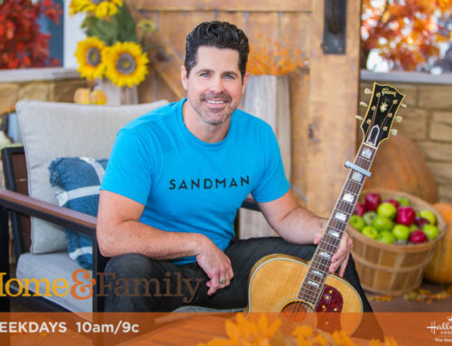 TUNE-IN ALERT: J.T. HODGES PERFORMS  ON HALLMARK'S 'HOME & FAMILY' TUESDAY, SEPTEMBER 29