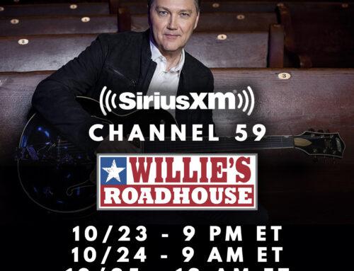 This Weekend: Steve Wariner Returns as House Guests DJ on SiriusXM's Willie's Roadhouse